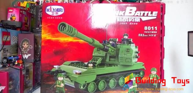 Winner 8011 05 Self-Propelled Howitzer Review