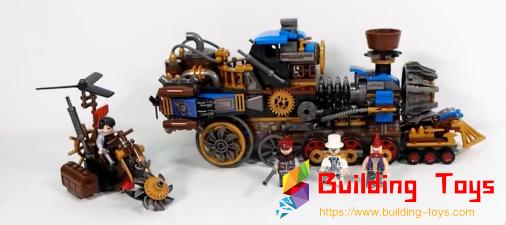 Winner 8043 Steam Train Building Blocks Review